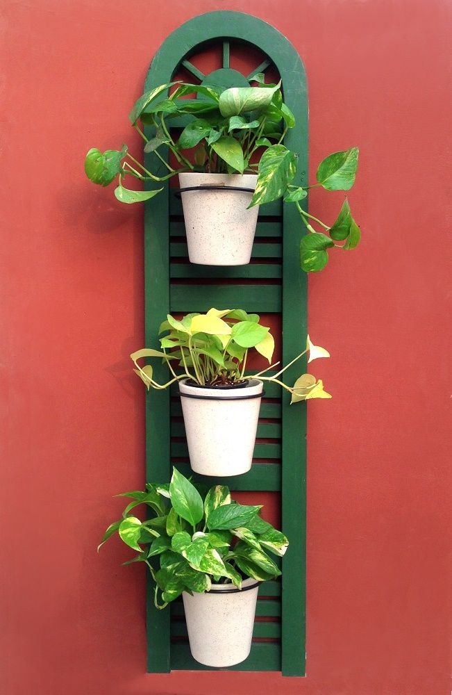 Studio Earthbox Firenze Window   Wall Planter With Ceramic Pots    Accessories Garden Home Décor |
