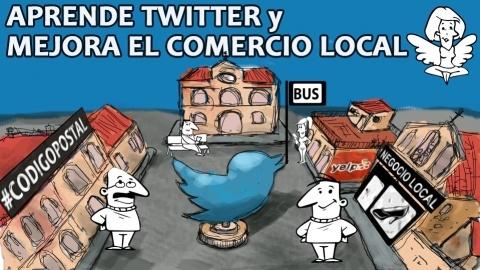 Cómo mejorar el comercio local del municipio con twitter - Una guía fácil que explica cómo incrementar la actividad económica mediante el uso eficaz de twitter. - $9