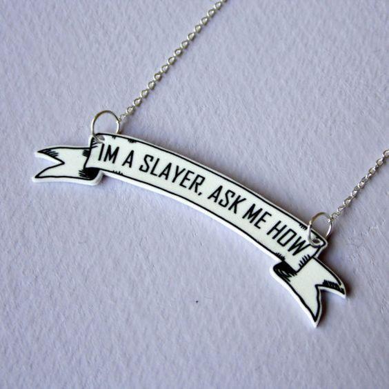 Etsy necklace.