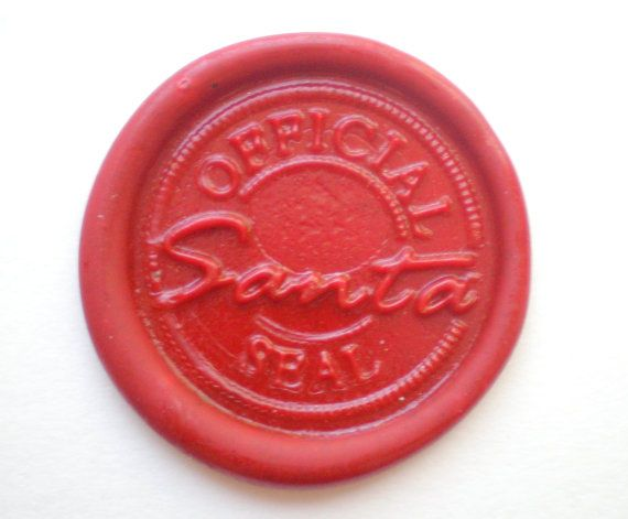 santa letter wax seal for letters from santas toys list With santa letter with wax seal