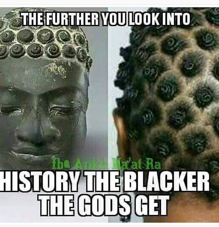 If you white and commenting on this pin with your racist rhetoric... You do know y'all came from black people, right?! Since you love science and facts, study that part too!!! All this research and alternative facts is dated back to YOUR time in history books. Let that truth sink in. We are and still Gods people!!!
