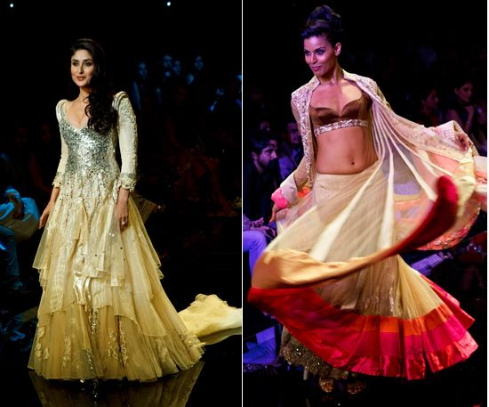 Manish Malhotra shows garments of ultimate beauty and style