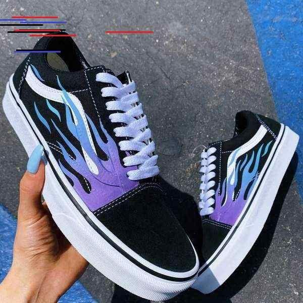 vans scarpe uomo disegni