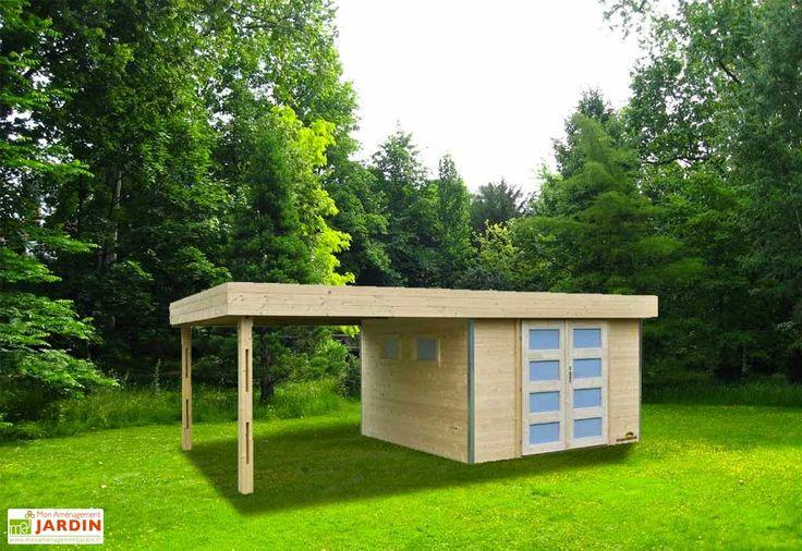 1000 images about carport abris de jardin on pinterest pool houses frances o 39 connor and posts - Abri de jardin pool house ...