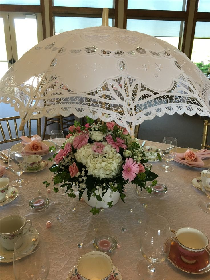 Southern belle charm bridal shower - pink lace