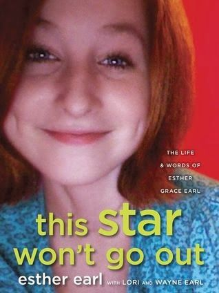 THIS STAR WON'T GO OUT by Esther Earl, Lori Earl and Wayne Earl. The journals, sketches, fiction, and photos of Esther Earl, an amazing human being who died of thyroid cancer in 2010 at the age of 16. THE FAULT IN OUR STARS is dedicated to Esther, friend to John Green and Nerdfighters everywhere. Please be sure to check out the THIS STAR WON'T GO OUT FOUNDATION! http://tswgo.org/index.html