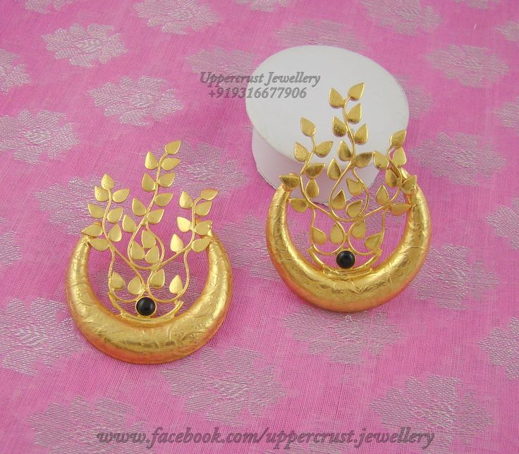 Gold Plated Contemporary earrings