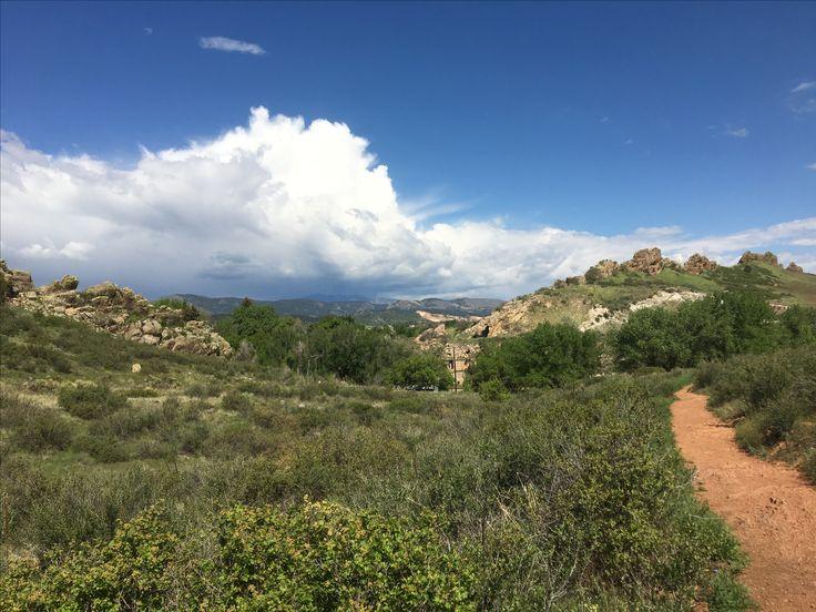 Hiking through the Devil's Backbone