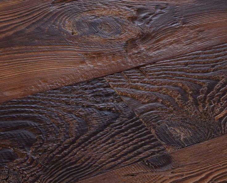 Bistre – Reclaimed Larch, authentic, stained, waxed - bARC Flooring