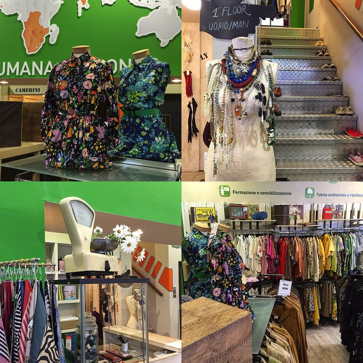 HUMANA Vintage - Milan: New Collection! #shoppingsolidale #shopping #vintage #vintagestyle #milan #rome #humanavintage #humanaitalia