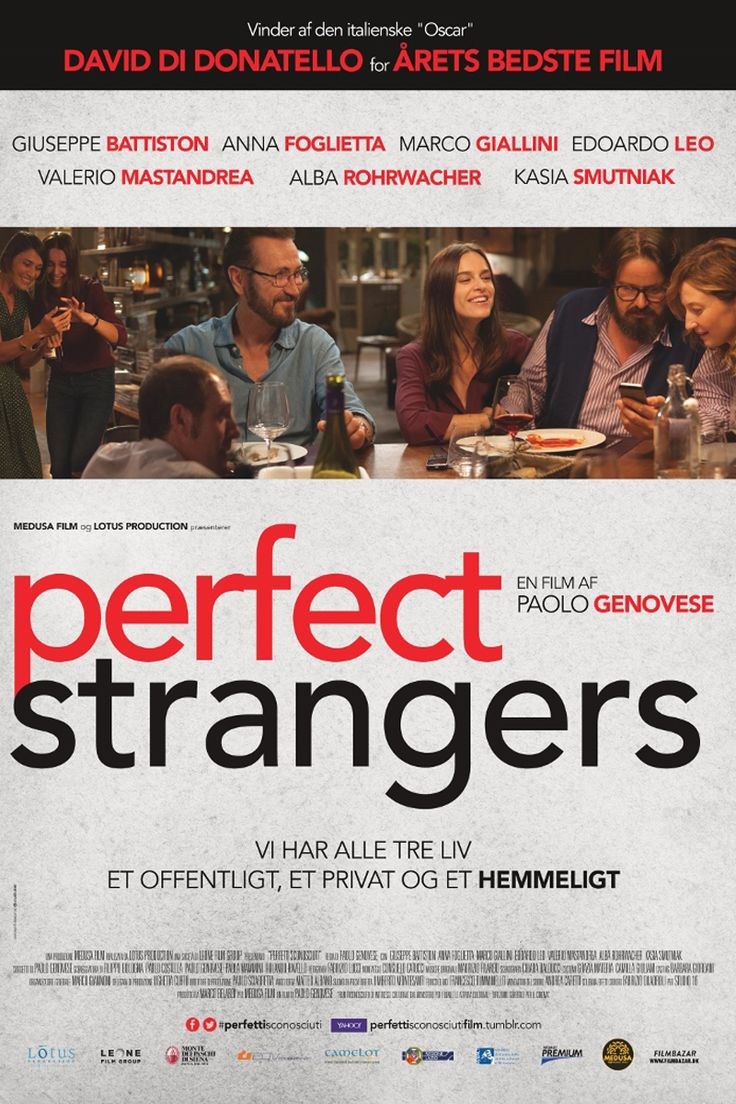 Perfect Strangers(2016),Paolo Genovese  2017.04.21@大鵬新城