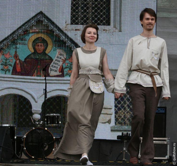 Современная мода в стиле пэчворк - Фестиваль лоскутного шитья в Суздале