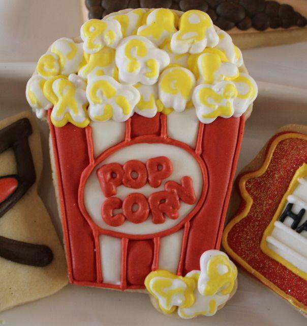 Fun popcorn cookie
