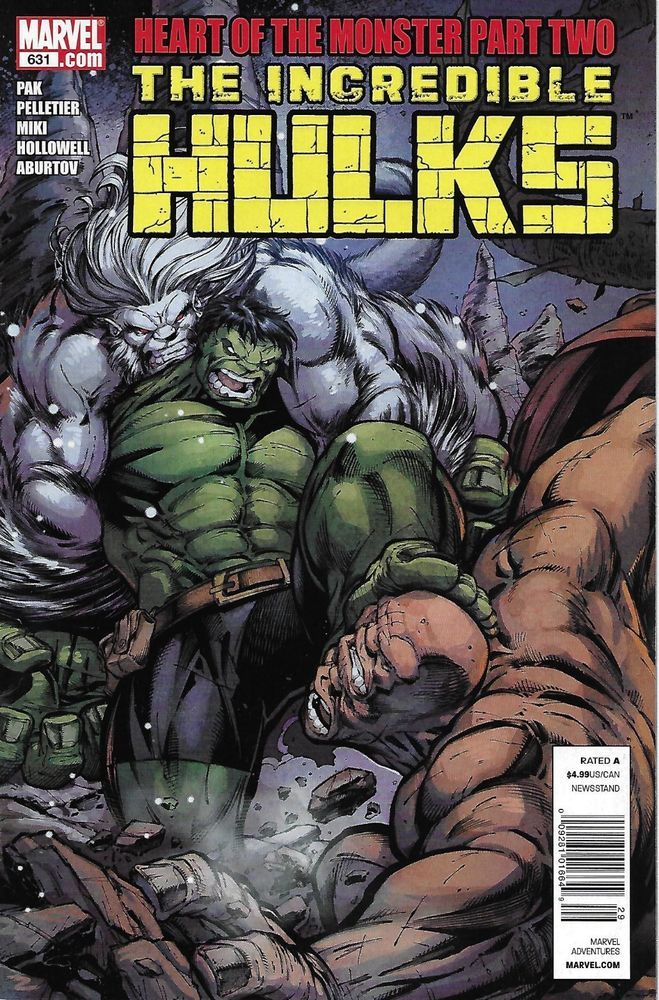 Marvel The Incredible Hulks comic issue 631