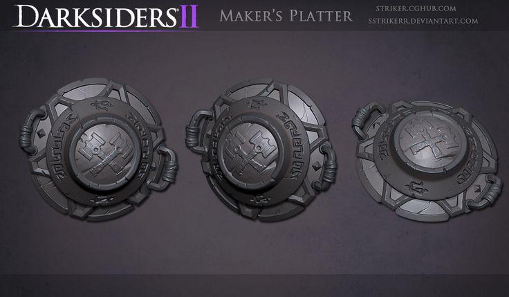 DS2 Platter Sculpt by sstrikerr.deviantart.com