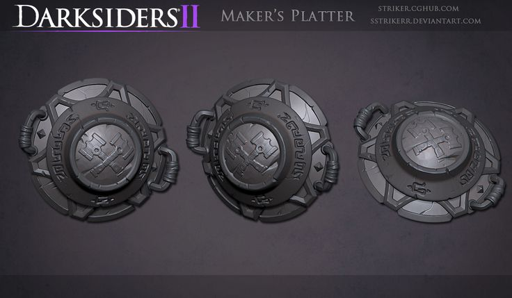 DS2 Platter Sculpt by *sstrikerr on deviantART