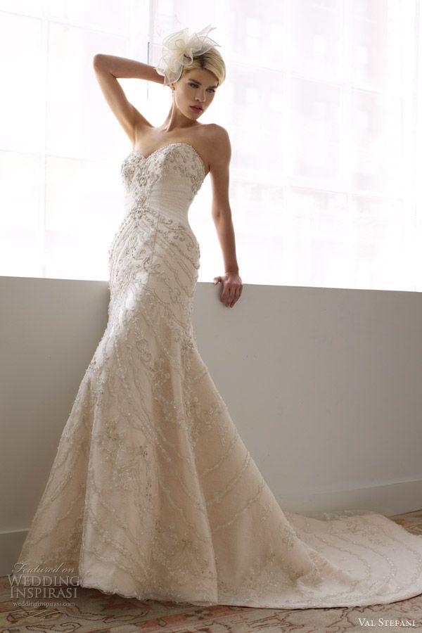 Val Stefani Spring 2013 Wedding Dresses Mermaid Gown
