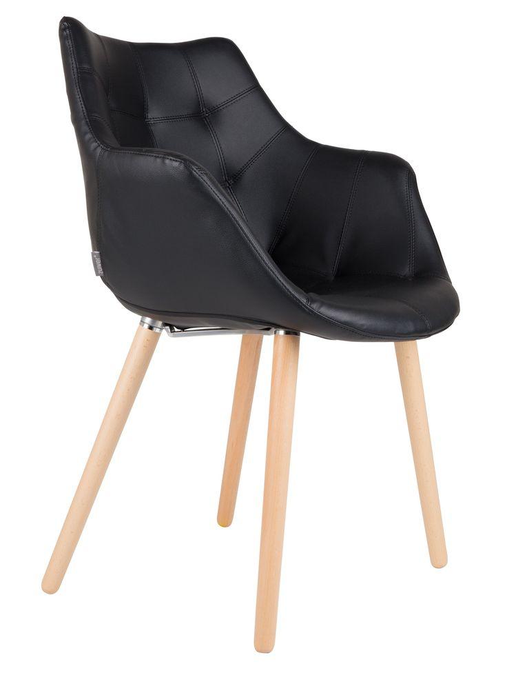Twelve stoel zwart - Zuiver