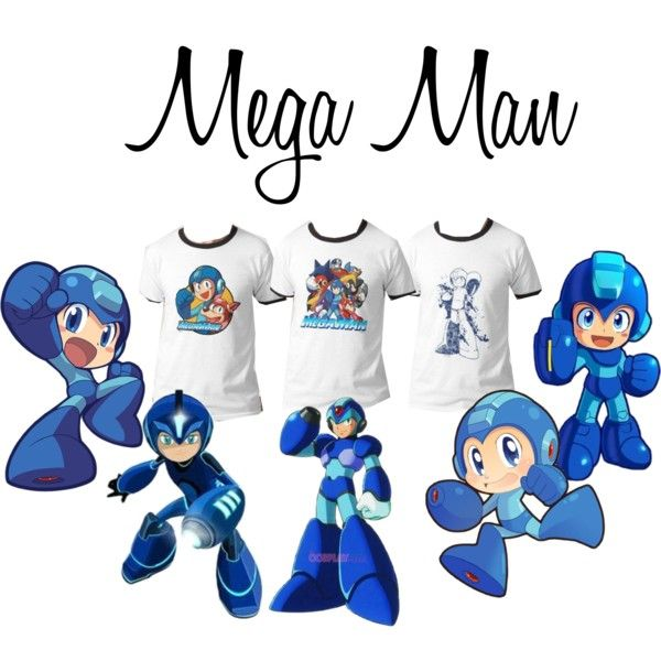 Take a look at Mega Man Zazzle Store. Mega Man by ziernor on Polyvore featuring art
