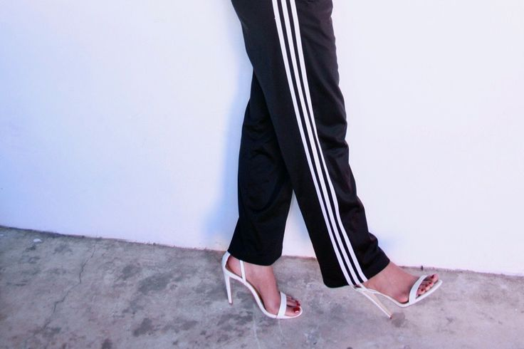 adidas track pants outfit, tracey che king, thestyletrunk.com