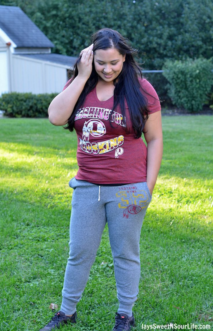Go Redskins! My Everyday Style Checkout how I like to wear my NFL Washington Redskins Apparel. I'm a laid back mom who has a very active lifestyle, I need clothes that can keep up with me yet still show off my love for the Redskins.  #fashion #ad NFL Fan Style #NFLFanStyle #CG #stye #mom #gear #NFL #Redskins #fashionista #momstyle #fashionforward #clothes #football #fan #fanatic
