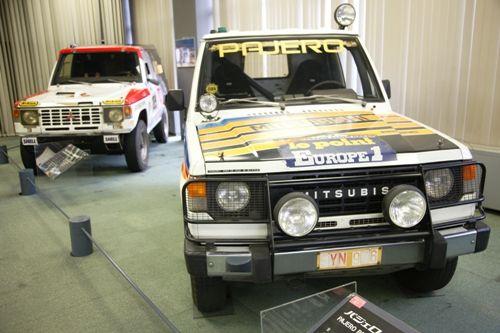 O Mitsubishi Auto Gallery abriu as portas em 1989 em uma das fábricas da marca, a 50 km de Nagoya. O acervo conta parte da história da marca, reconhecida
