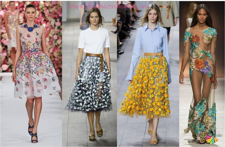 Top fashion trends 2015 - Latest fashion trend Floral ...
