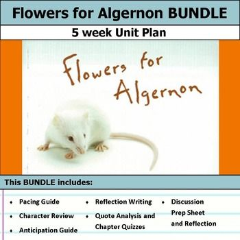 flowers for algernon pre reading activities