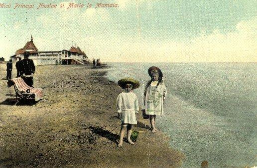 Mamaia - Micii Principi - Nicolae si Maria