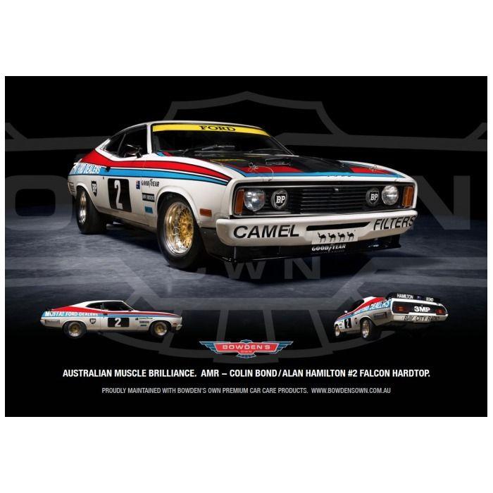 Colin Bond #2 1977 Ford Falcon Hardtop poster.