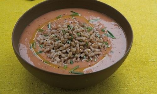 Farro (soup) Zuppa di Farro