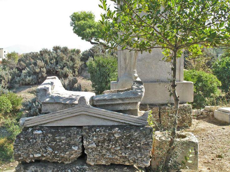 Ancient tombs, Ancient Cemetery of Kerameikos, Athens