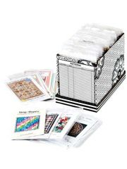 Keep Your Sewing Room Neat And Tidy With The Pattern Keeper Organizer A Quilting Storage Box That Holds Up To 40 Patterns