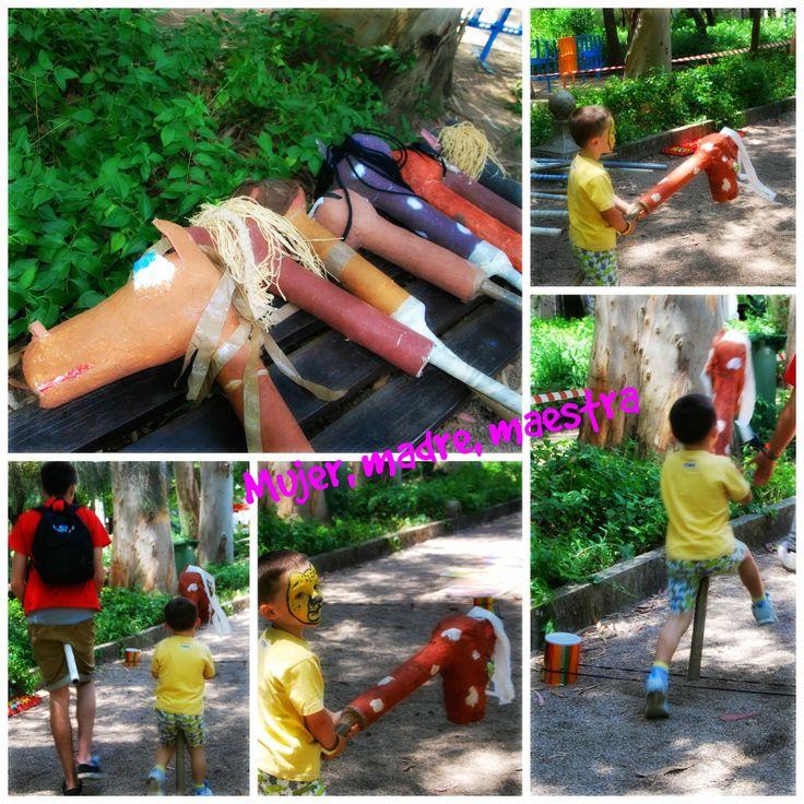 Madre, Mujer, Maestra: Juegos tradicionales para fiestas infantiles