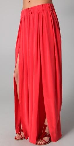 Thakoon Addition  Maxi Skirt with Slits  Style #:THAKA30014