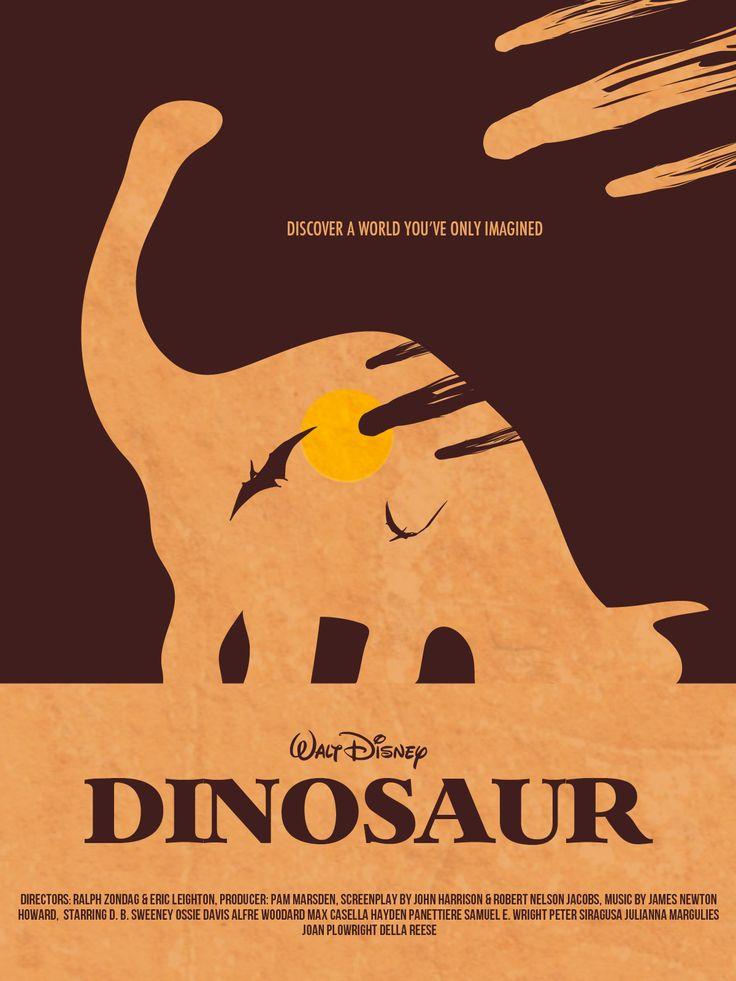 Alternative Dinosaur movie poster - Photoshop
