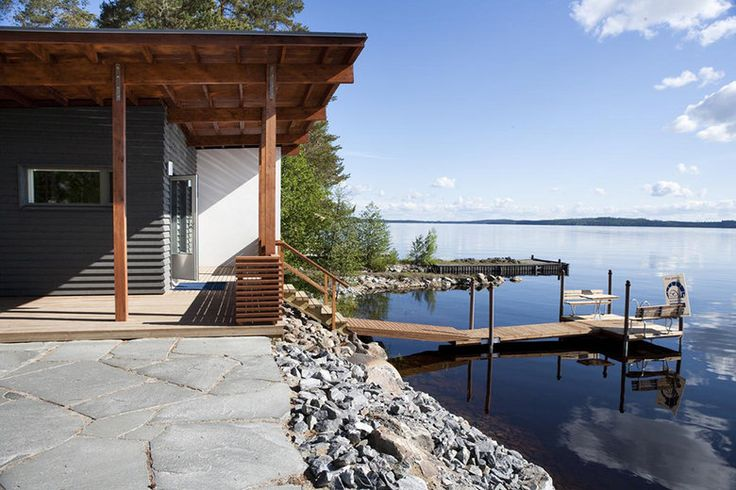 Villa Valon rantasauna on kesämökki kaupungissa, lisää ideoita www.lammi-kivitalot.fi