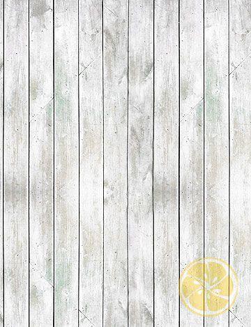 Shabby white distressed wood floor