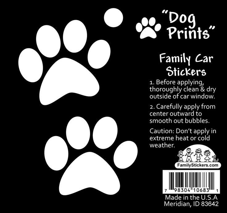 Ben je trotse bezitter van een hond? Dan is deze sticker van een hondenpoot echt wat voor jou. Deze sticker plak je bijvoorbeeld op de auto zo kan je laten zien dat je hond in huis hebt. Leuk toch deze hondenpoten?