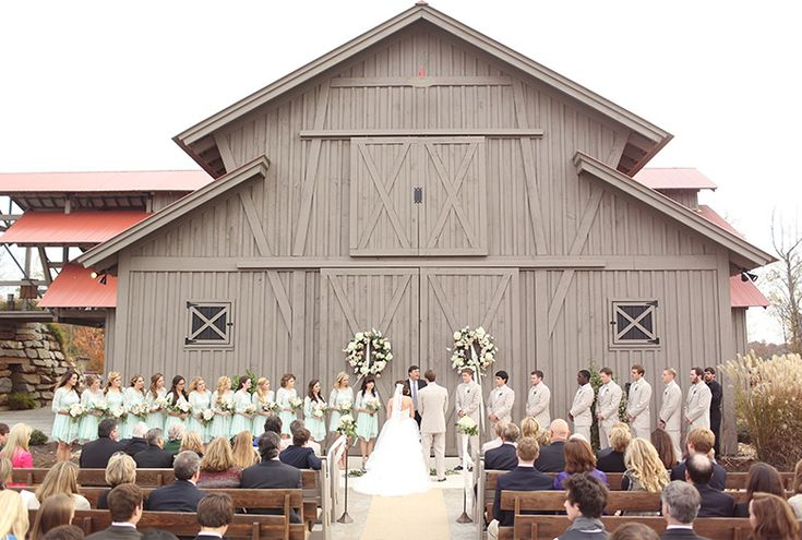 every last detail | wedding inspiration | ceremony | barn wedding | mint | rustic wedding theme | barn venue