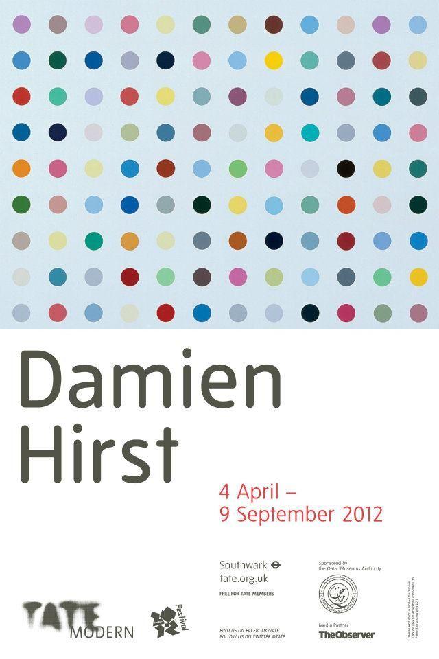 LYLYBYE: DAMIEN HIRST EXHIBITION - TATE MODERN - LONDON 2012