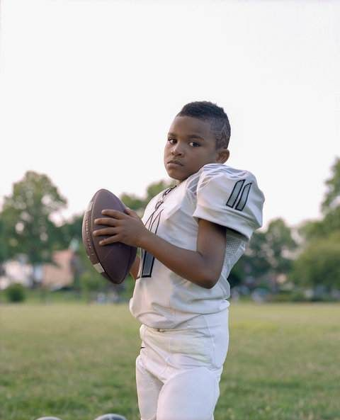 pee wee football concussion