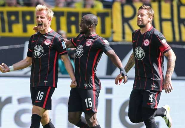 Eintracht Frankfurt 1-0 Borussia Dortmund: Aigner the hero again as BVB's challenge ends