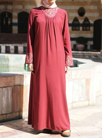 The Comfy and  soft Amara Dress by SHUKR Islamic Clothing