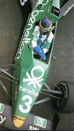 1983 Benetton Team Tyrrell 010 Michele Alboreto