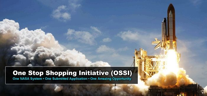 NASA One Stop Shopping Initiative for Internships, Fellowships, and Scholarships. Opportunities available at centers/facilities across the United States.