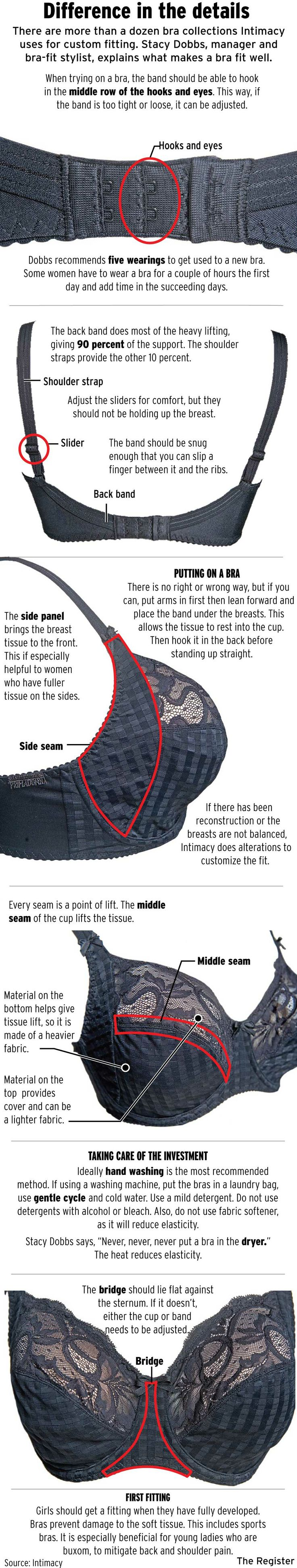 How European bras differ from American bras.