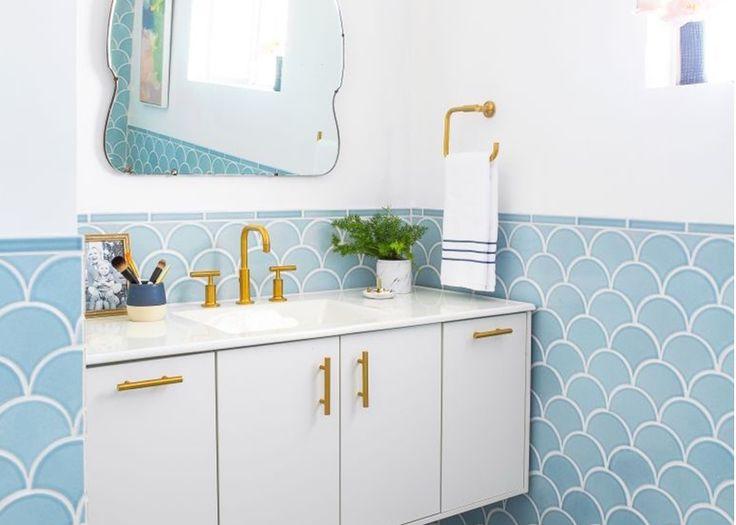 Trend: zeemeermin tegeltjes in de badkamer en keuken