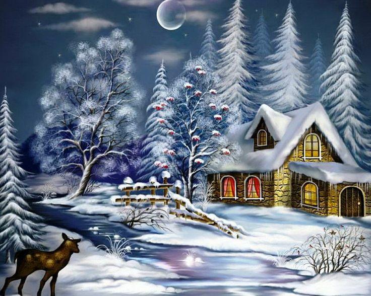 87 besten winterlandschaft bilder auf pinterest - Winterlandschaft dekoration ...