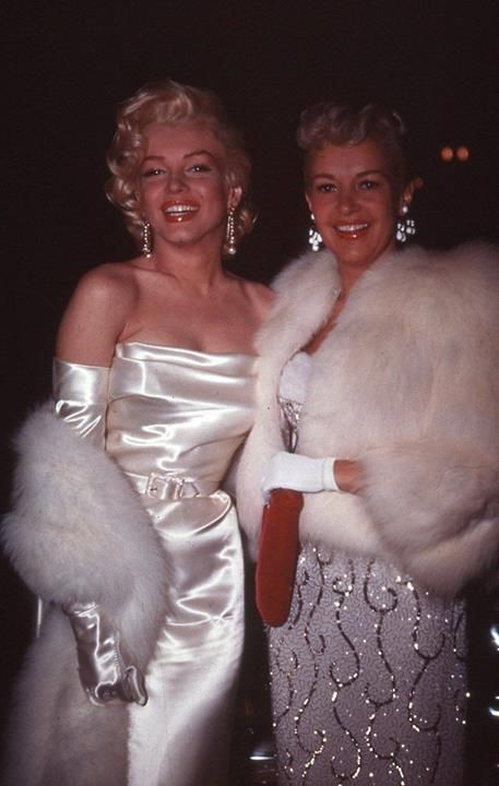 "Marilyn and Betty Grable.""Two Beauty's"""